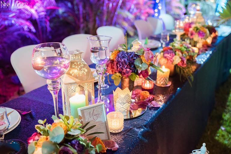 table décorée CH