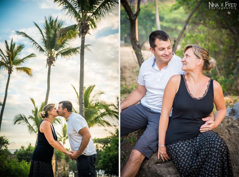 photographie Réunion Sophie et Cédric