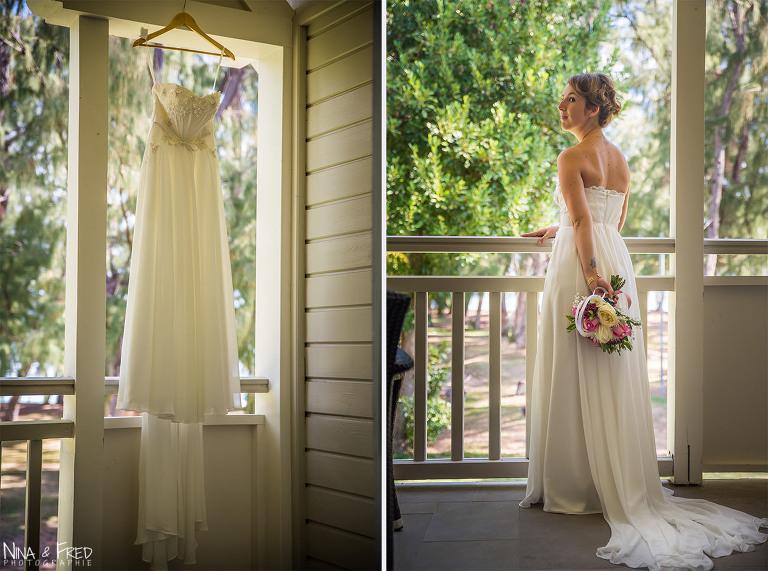 mariée et robe M&C