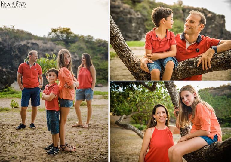 photos de famille G Réunion