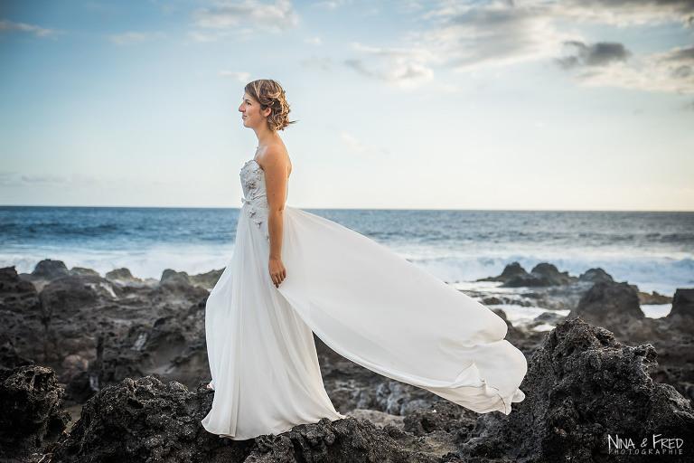 mariée M&C trash the dress