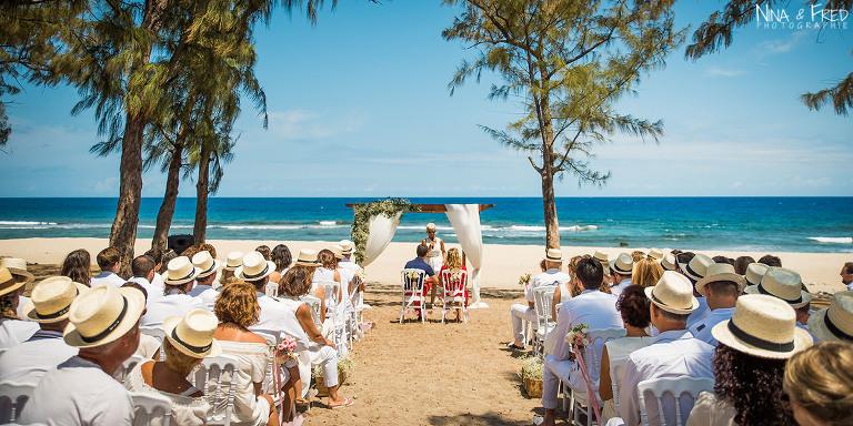 photo cérémonie sur la plage 974 E&B