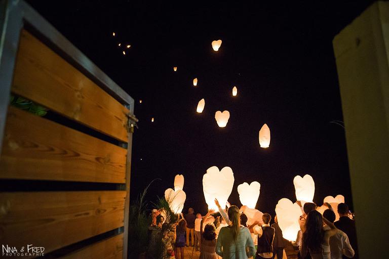 lacher de lanterne E&B