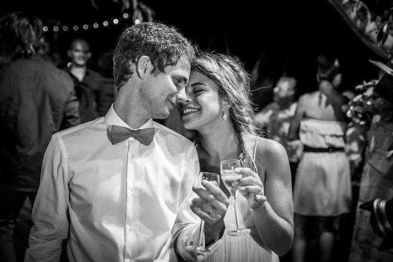 champagne mariage E&B