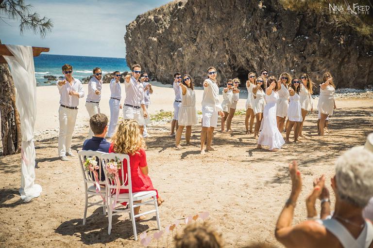 cérémonie plage 974 E&B