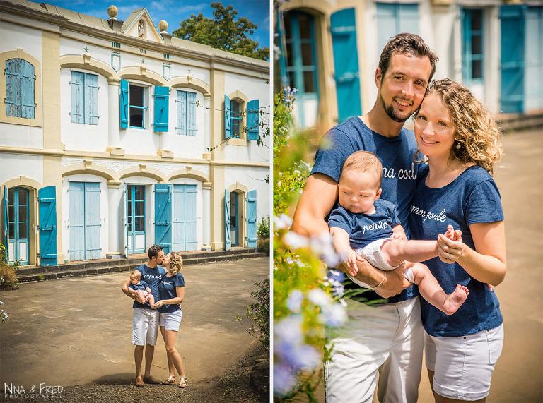 photos de famille Réunion C&C