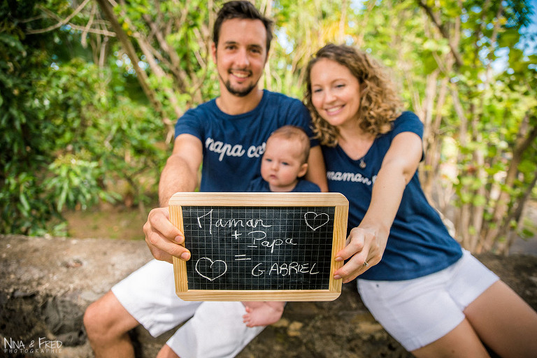 parents et bébé Réunion C&C