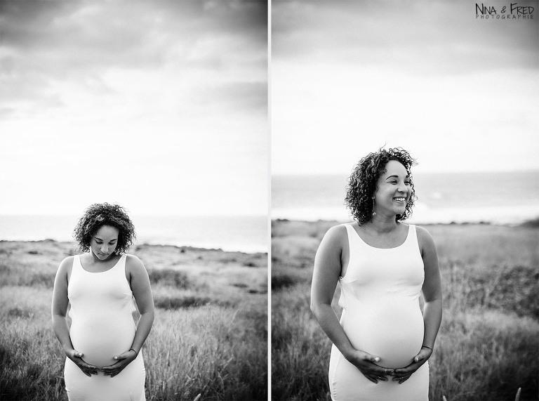 série de photos de grossesse Anaïs