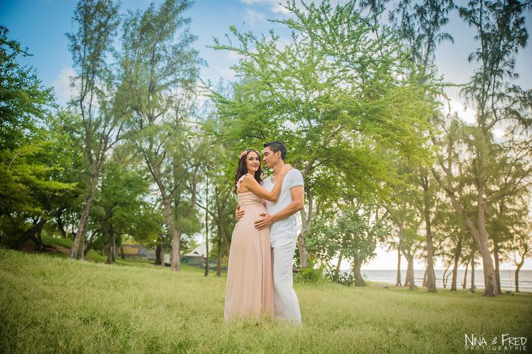 grossesse couple Elyse et Christophe