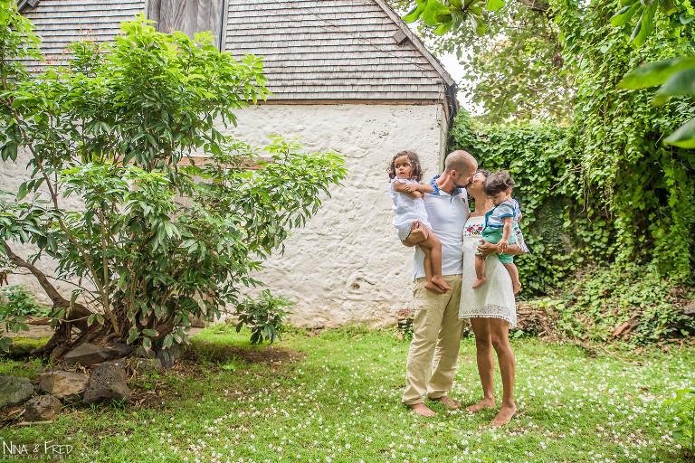 photo de famille HS à la Réunion