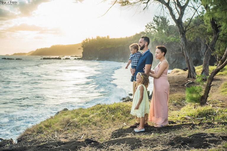 photographie famille Réunion C&J