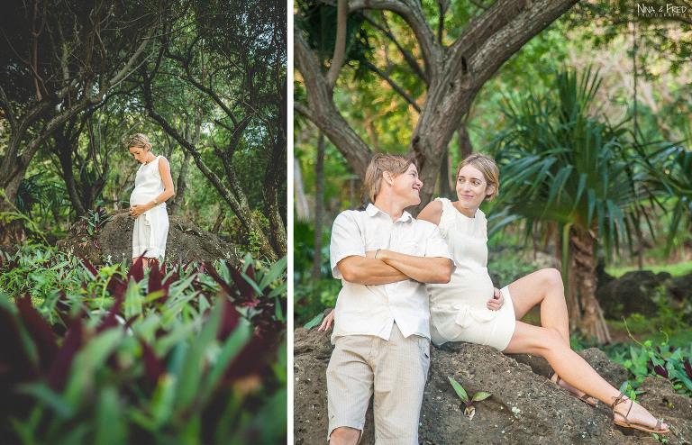 photos grossesse et couple F&A