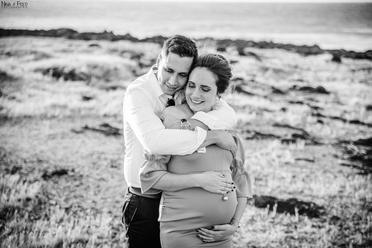 photo de grossesse Lucie et Yann