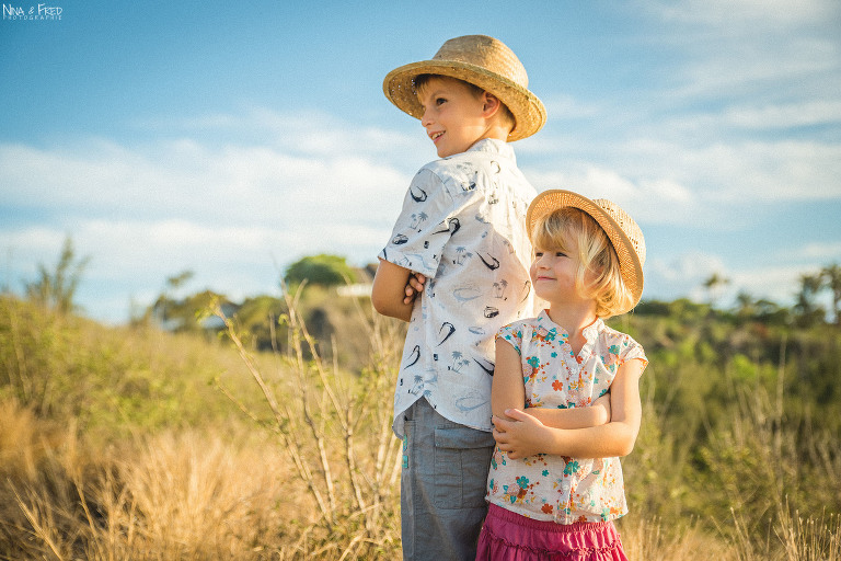 portrait famille enfants Réunion So