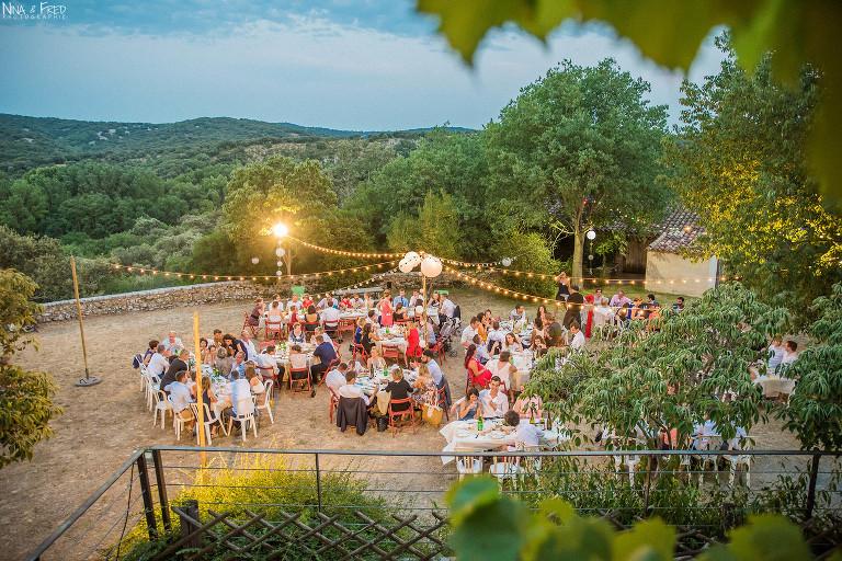 réception mariage château de Villarel L&S