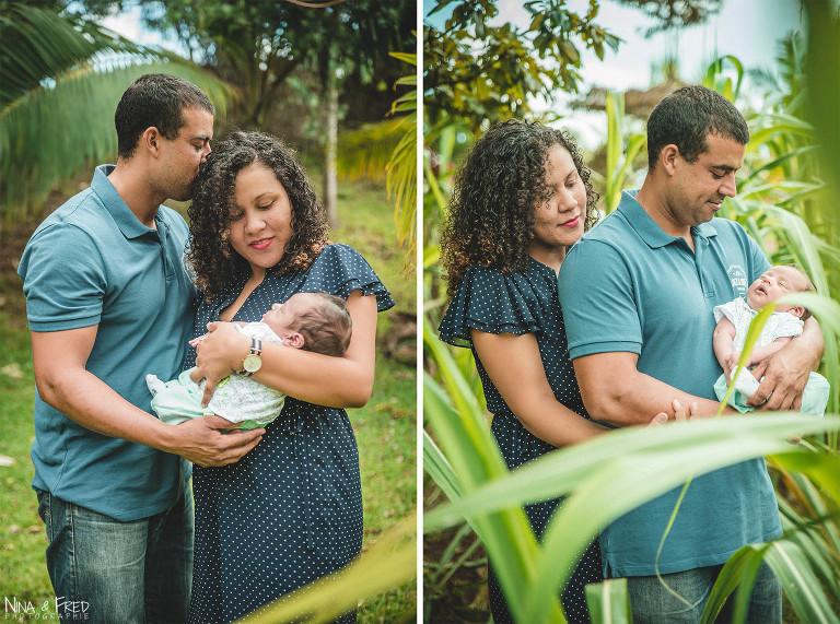 photo famille bébé Tampon 974 Rohann
