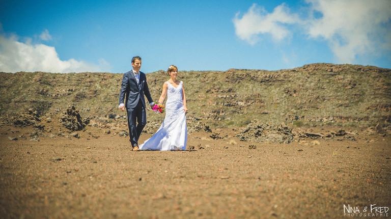séance photo mariage Plaine des sables L&F