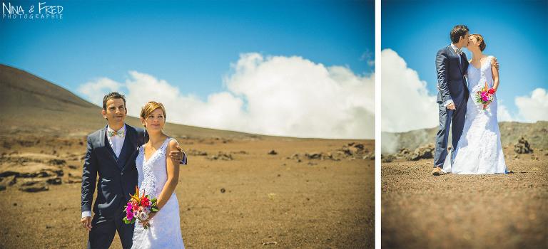 séance photo de mariage Plaine des sables L&F