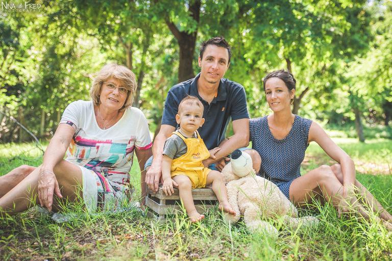 portrait de famille 974 J&EP