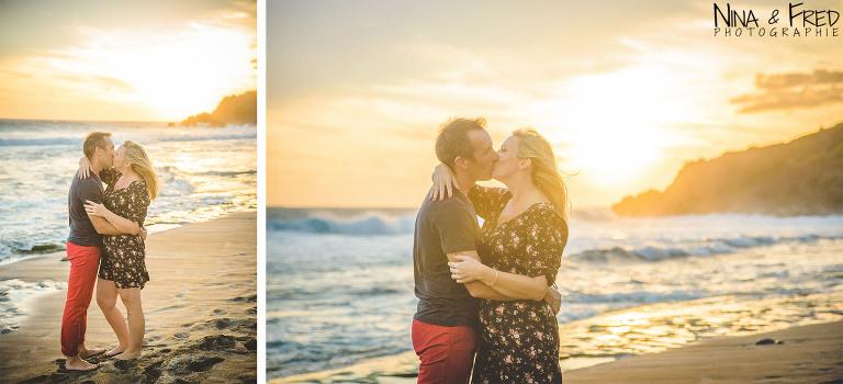 EB couple sur la plage