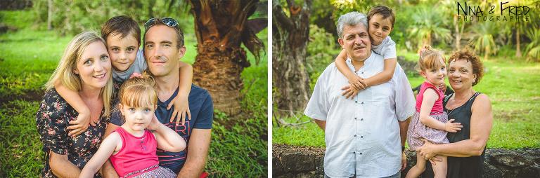 Famille EB avec grands parents