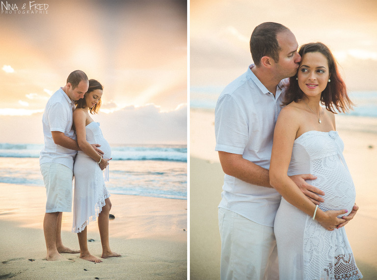 photos de couple et grossesse E&A