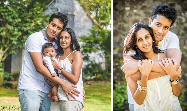 séance photo en famille à la Réunion Dj