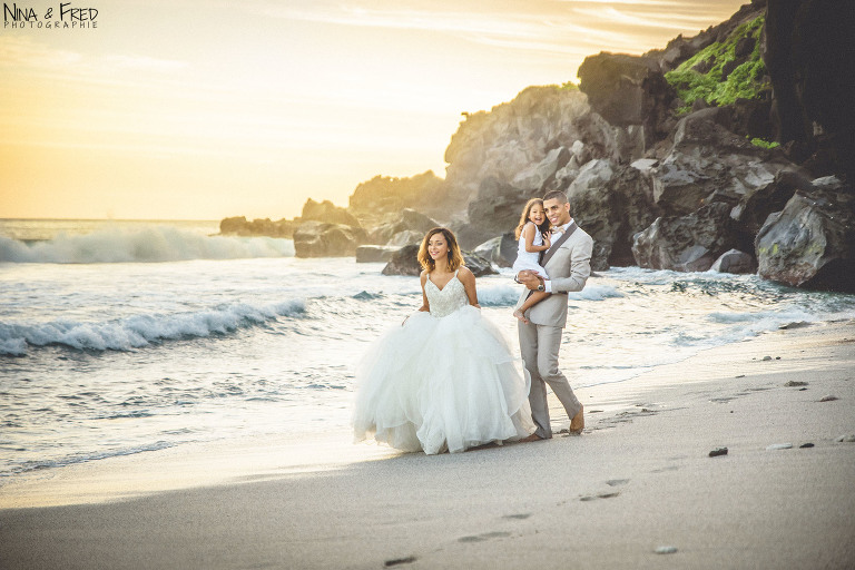 trash the dress mariage famille Réunion Vanessa