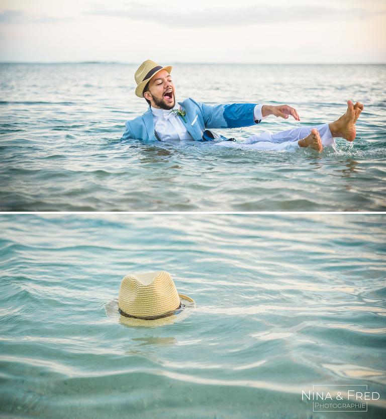 marié dans l'eau S&A