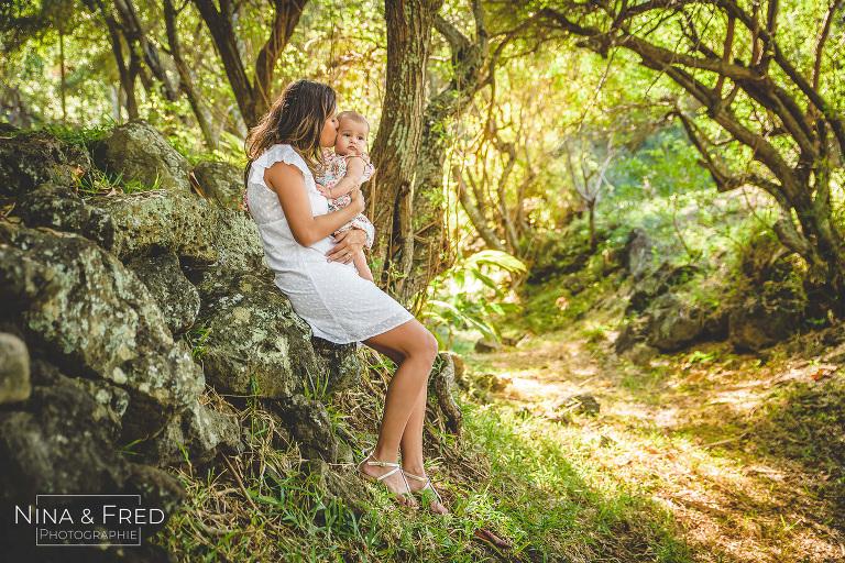 photos de famille mère et bébé F&L