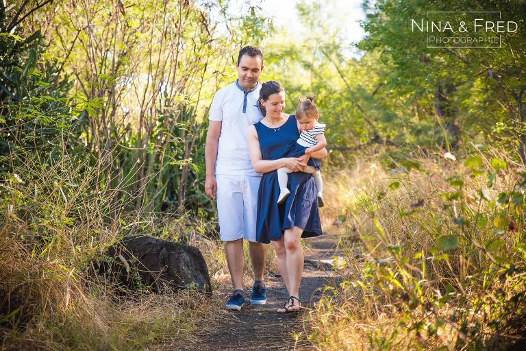 séance photo famille souvernirs 974 M&J&E
