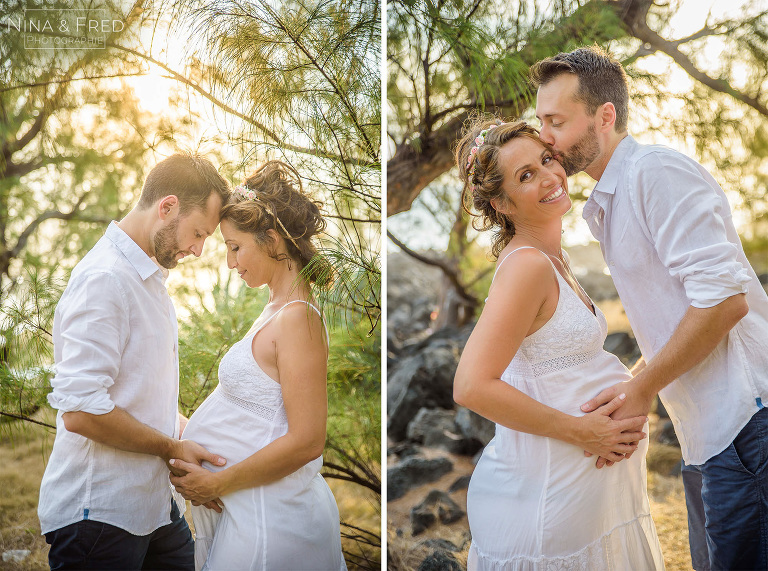 photos de grossesse en couple J&M