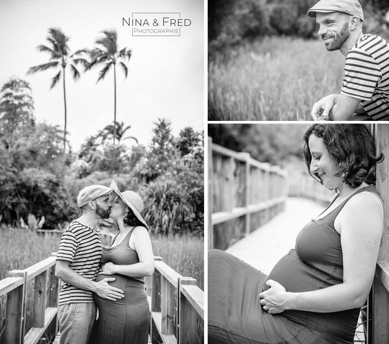 photos de grossesse d'A&R jardin d'eden