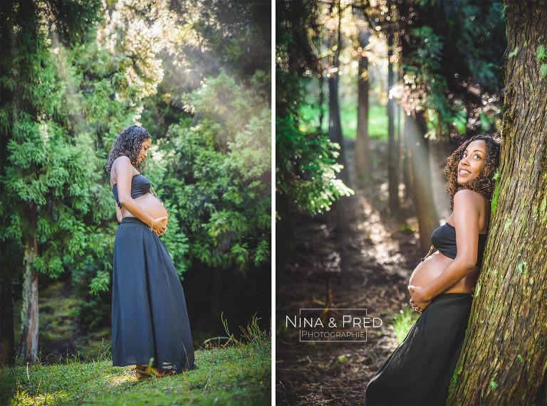 photos femme enceinte 974 E&D forêt