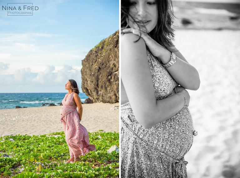 femme enceinte Réunion C&G