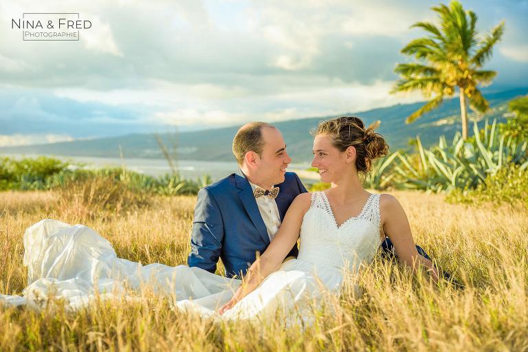 photo trash the dress A&L Réunion