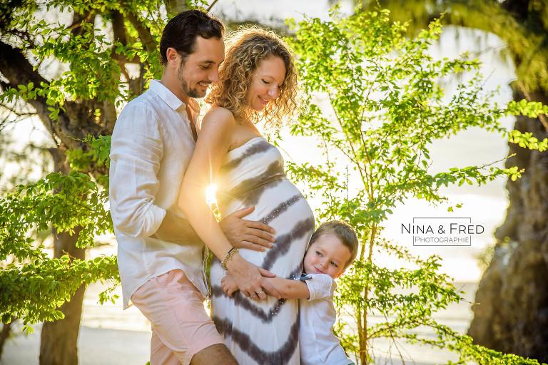 shooting grossesse en famille C&C&G