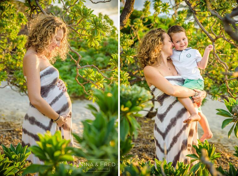 photo de grossesse avec premier enfant C&C&G