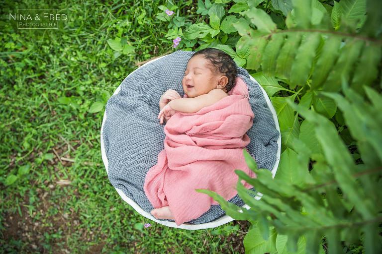 photo de bébé extérieur Réunion Alicia