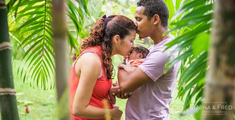 photo parents bébé Alicia