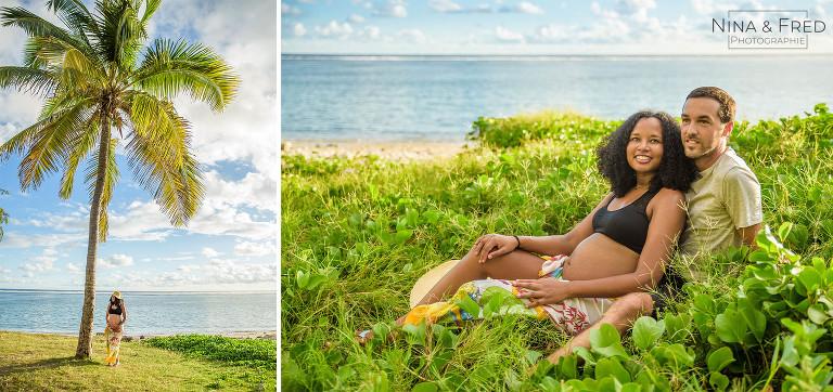 photos de grossesse tropicales S&J