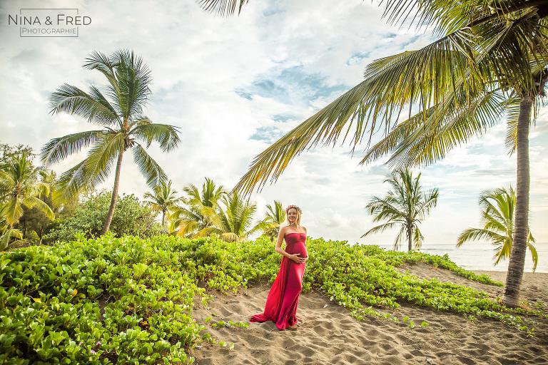 shooting grossesse tropical 974 N&Y