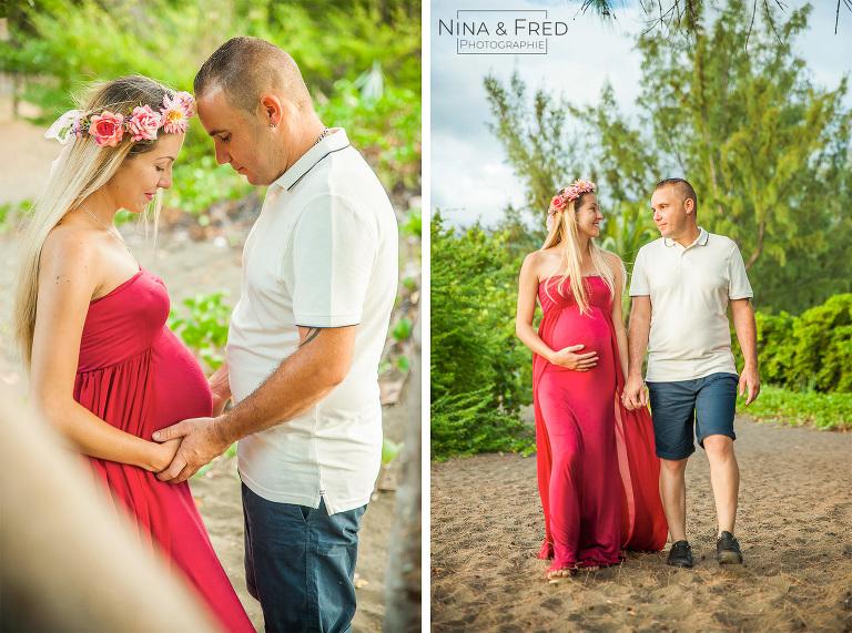 photo de grossesse en couple N&Y