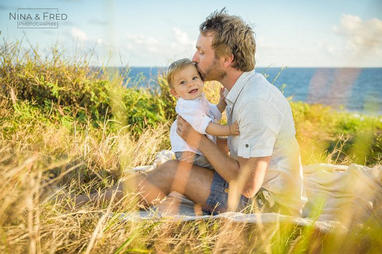 photo famille savane Réunion J&H19