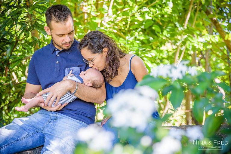 shooting naissance en famille M&E&L