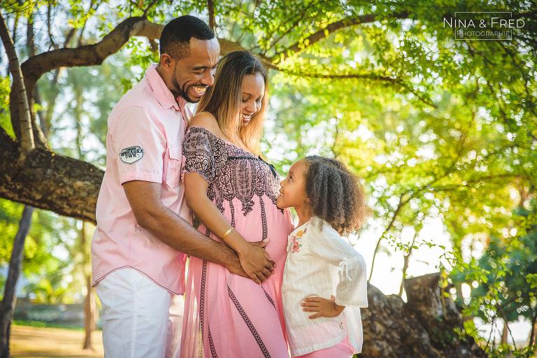 séance photo grossesse famille M&D