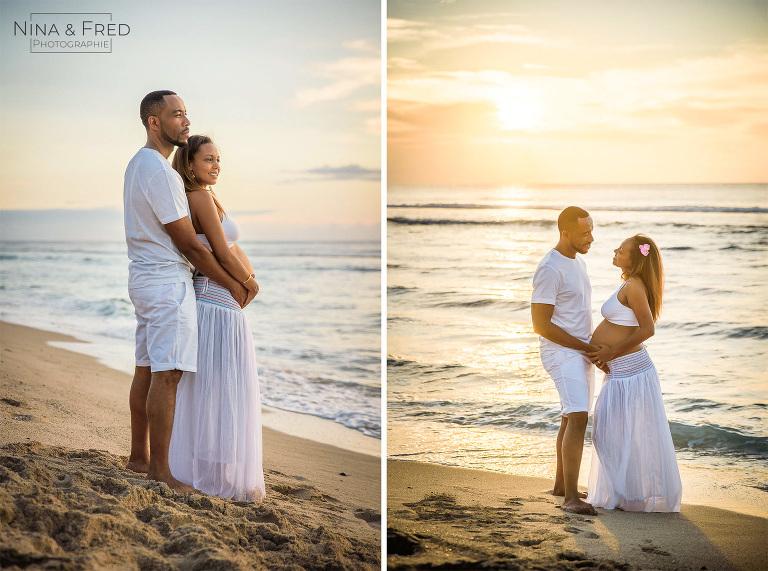 photos de grossesse en couple M&D