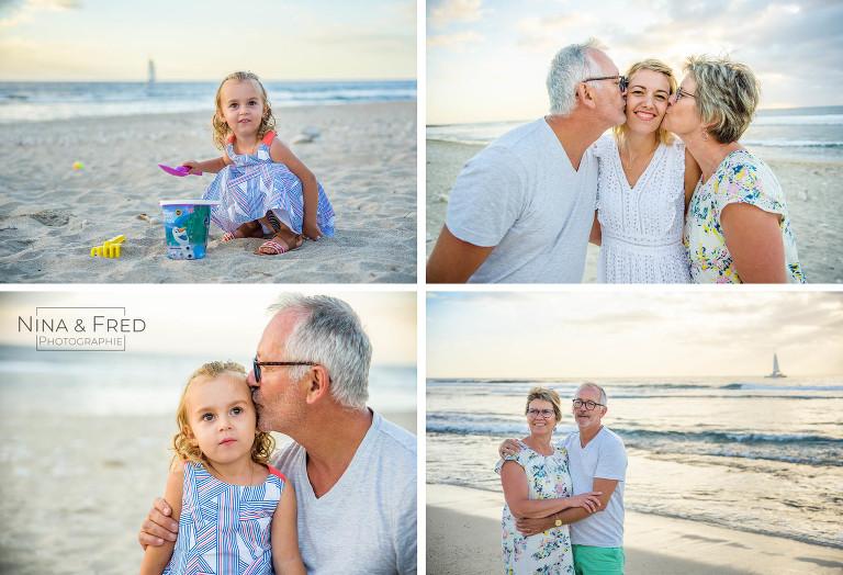 photos en famille trois générations F&A