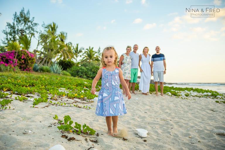 photo famille enfants Réunion F&A
