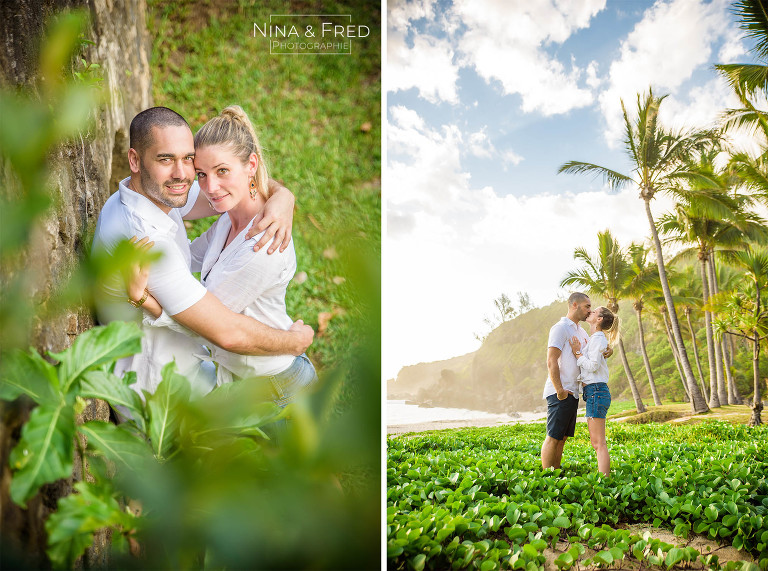 shooting couple grande anse Réunion J&JC